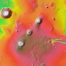 Tharsis Montes Mars