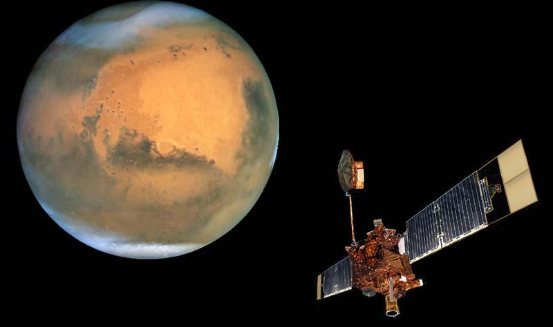 Hubble ile çekilen Mars Fotoğrafları