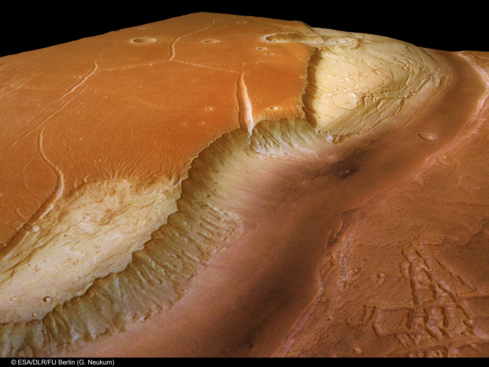 Kasei Valles Mars